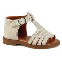 Shoes Girl Sandals GBB ATECA Beige