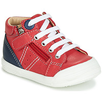 Shoes Boy High top trainers GBB ANATOLE Red