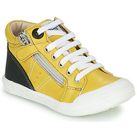 Shoes Boy High top trainers GBB ANATOLE Yellow
