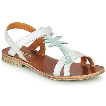 Shoes Girl Sandals GBB SAPELA White