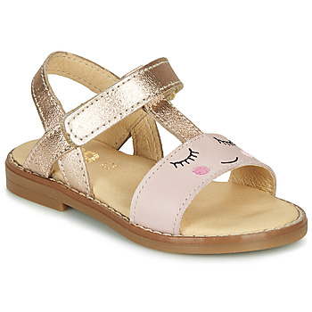 Shoes Girl Sandals GBB NAZETTE Pink