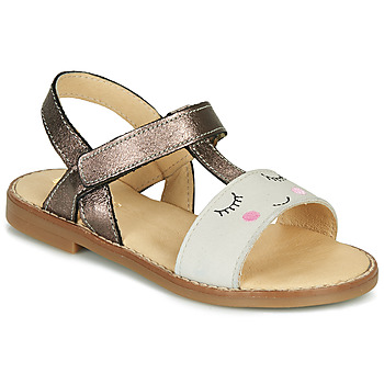 Shoes Girl Sandals GBB NAZETTE Beige