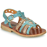 Shoes Girl Sandals GBB FANNI Blue