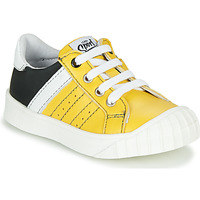 Shoes Boy Low top trainers GBB LINNO Yellow