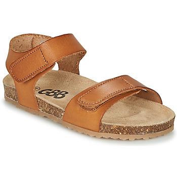 Shoes Boy Sandals GBB KIPILO Brown