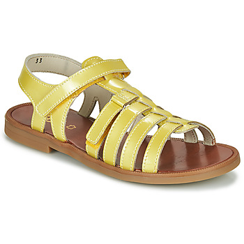 Shoes Girl Sandals GBB KATAGAMI Yellow