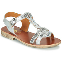 Shoes Girl Sandals GBB EUGENA Silver