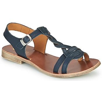 Shoes Girl Sandals GBB EUGENA Blue