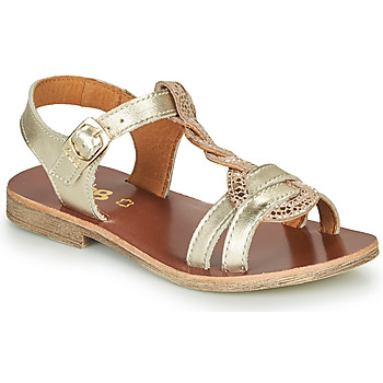 Shoes Girl Sandals GBB EUGENA Gold