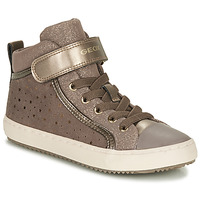 Shoes Girl High top trainers Geox KALISPERE Beige