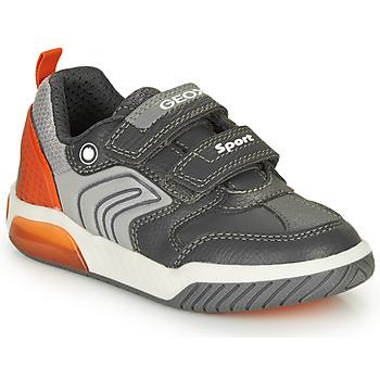 Shoes Boy Low top trainers Geox INEK BOY Grey