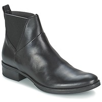 Shoes Women Mid boots Geox MENDI ST D Black
