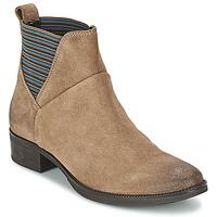 Shoes Women Mid boots Geox MENDI ST D BEIGE