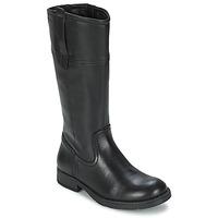 Shoes Girl Boots Geox SOFIA B Black