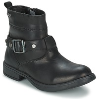 Shoes Girl Boots Geox SOFIA B Black