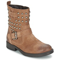 Shoes Girl Boots Geox SOFIA C Brown