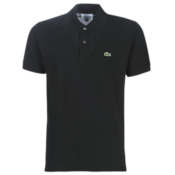 material Men short-sleeved polo shirts Lacoste POLO L12 12 REGULAR Black