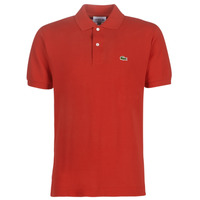 material Men short-sleeved polo shirts Lacoste POLO L12 12 REGULAR Red