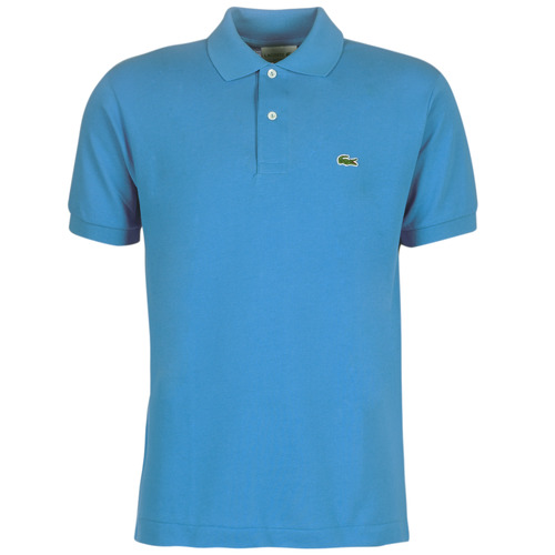material Men short-sleeved polo shirts Lacoste POLO L12 12 REGULAR Blue