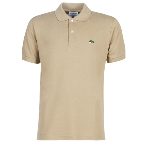 material Men short-sleeved polo shirts Lacoste POLO L12 12 REGULAR Beige