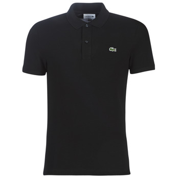 material Men short-sleeved polo shirts Lacoste PH4012 SLIM Black