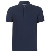 material Men short-sleeved polo shirts Lacoste PARIS POLO REGULAR Marine