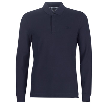 material Men long-sleeved polo shirts Lacoste PH2481 REGULAR Marine