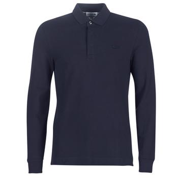 material Men long-sleeved polo shirts Lacoste PH2481 REGULAR Marine