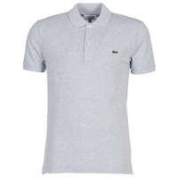 material Men short-sleeved polo shirts Lacoste PH4012 SLIM Grey