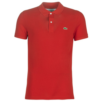 material Men short-sleeved polo shirts Lacoste PH4012 SLIM Red