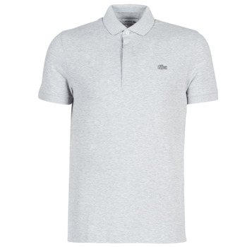 material Men short-sleeved polo shirts Lacoste PARIS POLO REGULAR Grey
