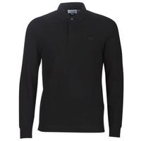 material Men long-sleeved polo shirts Lacoste PH2481 REGULAR Black