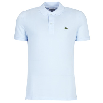 material Men short-sleeved polo shirts Lacoste PH4012 SLIM Blue