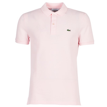 material Men short-sleeved polo shirts Lacoste PH4012 SLIM Pink