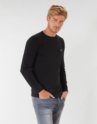 material Men Long sleeved shirts Lacoste TH6712 Black