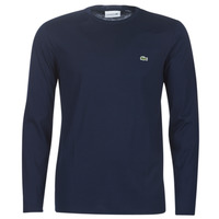 material Men Long sleeved shirts Lacoste TH6712 Marine