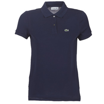 material Women short-sleeved polo shirts Lacoste PF7839 Marine