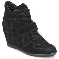 Shoes Women High top trainers Ash BOWIE Black
