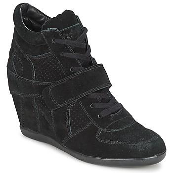 Shoes Women High top trainers Ash BOWIE Black