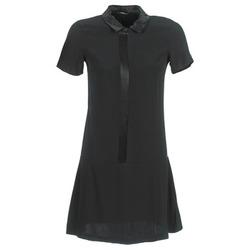 material Women Short Dresses Ikks BIGU Black