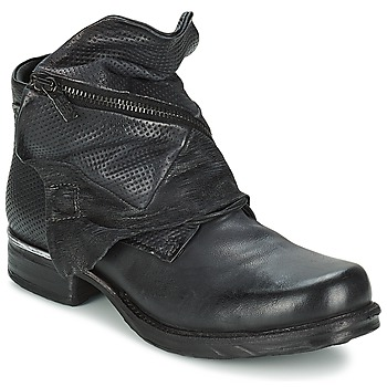 Ankle boots / Boots Airstep / A.S.98 SAINT METAL Black 350x350