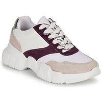 Shoes Women Low top trainers André BABETTE Pink