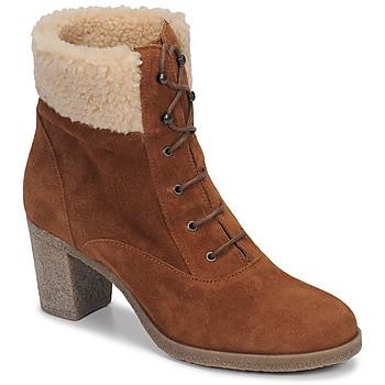 Shoes Women Ankle boots André BOHEME Camel