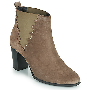 Shoes Women Ankle boots André NORINE Taupe