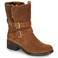 Shoes Women Mid boots André MAJOLIE Camel