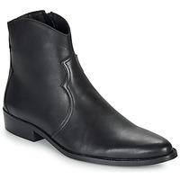 Shoes Men Mid boots André WESTERN Black
