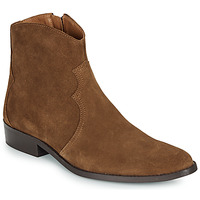 Shoes Men Mid boots André WESTERN Brown