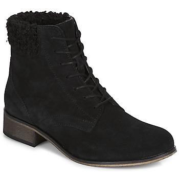 Shoes Women Mid boots André GODILLETTE Black