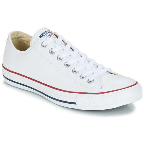 Shoes Low top trainers Converse Chuck Taylor All Star CORE LEATHER OX White