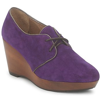 Shoes Women Low boots Esska CANE Violet